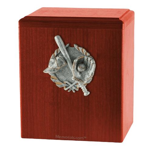 Home Run Cherry Cremation Urn