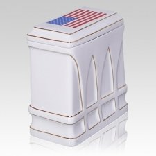 Honor Flag Cremation Urn