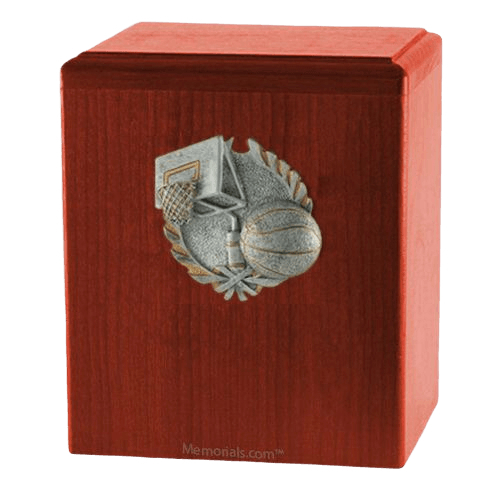 Hoops Cherry Cremation Urn