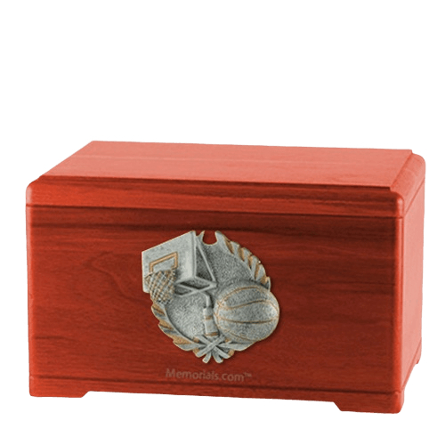 Hoops Fan Cherry Cremation Urn