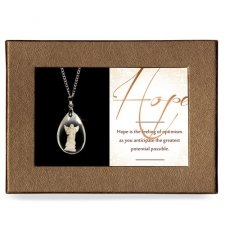 Hope Gift Boxed Angel Pendant
