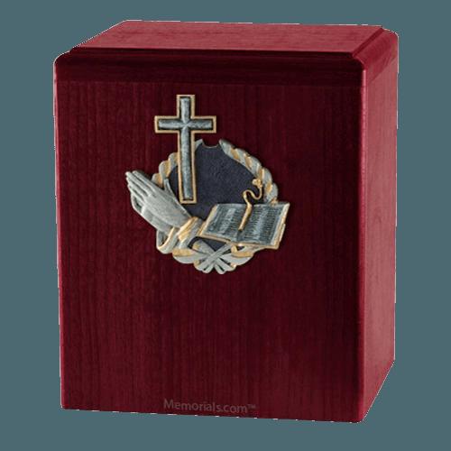 Hope Rosewood Cremation Urn