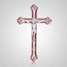 Hope Silver Crucifix Applique