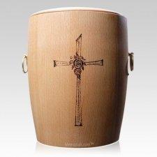 Hope Wood Cremation Urn