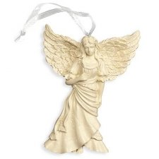 Hopeful Heart Angel Keepsake Ornament