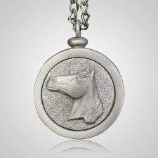 Horse Pet Memory Keychain