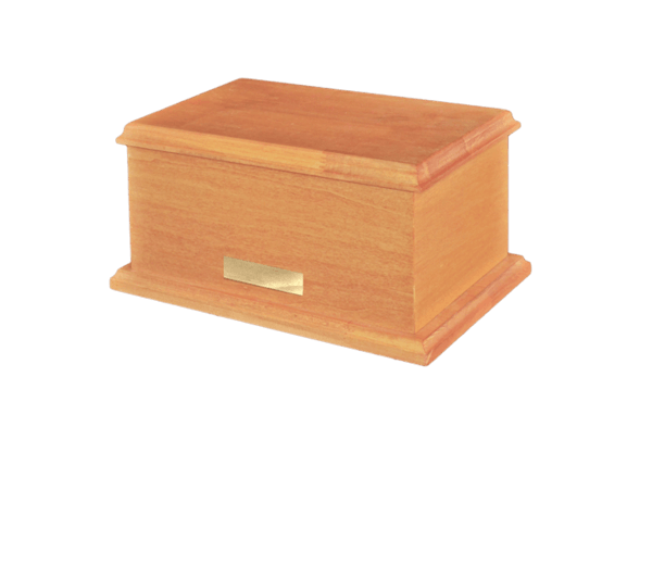 Humbled Wood Cremation Urn
