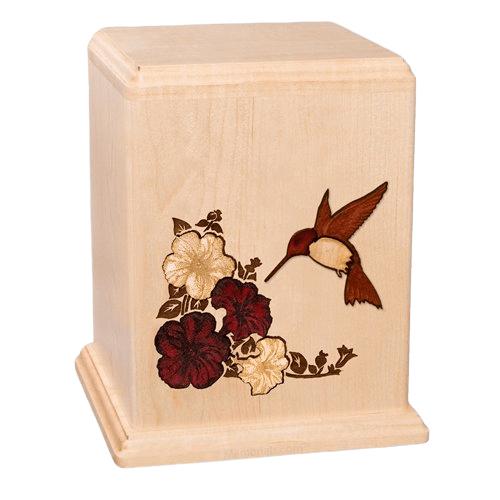 Hummingbird Small Child Cremation Urn