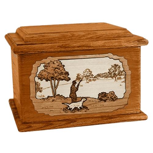 Hunter Mahogany Memory Chest Cremation Urn