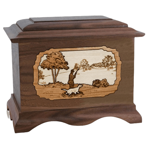 Hunter Wood Cremation Urns