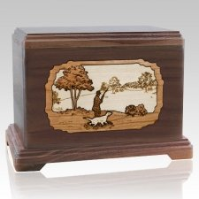 Hunter Walnut Hampton Cremation Urn