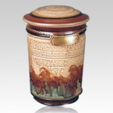 Hemmingway Ceramic Cremation Urn