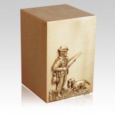 Huntsman Bronze Cremation Urn