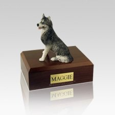 Husky Small Dog Urn