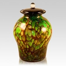 Hydra Glass Cremation Urn