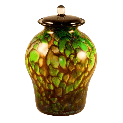 Hydra Glass Cremation Urn