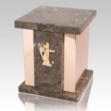 Infinita Rosatica Marble Urn