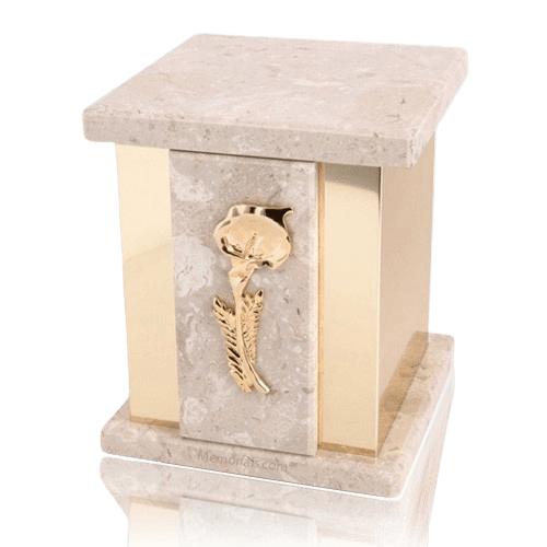 Infinita Perlato Marble Cremation Urns