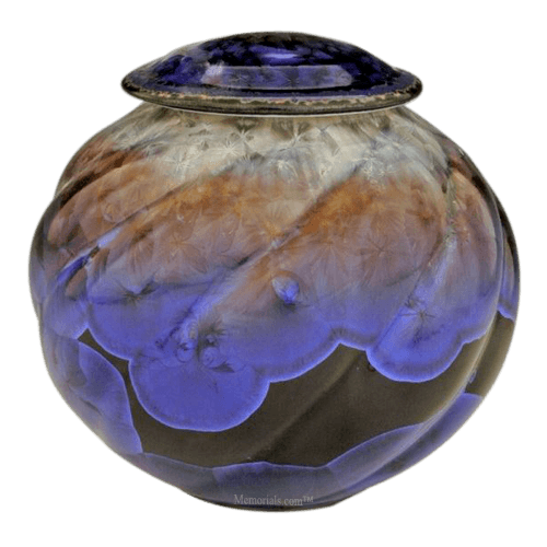 Ice Age Pet Porcelain Cremation Urn