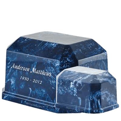 Iceberg Prism Marble Cremation Urns