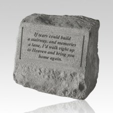 If Tears Could Build Cremation Gravestone