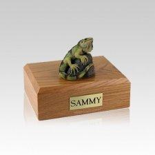 Iguana Small Cremation Urn