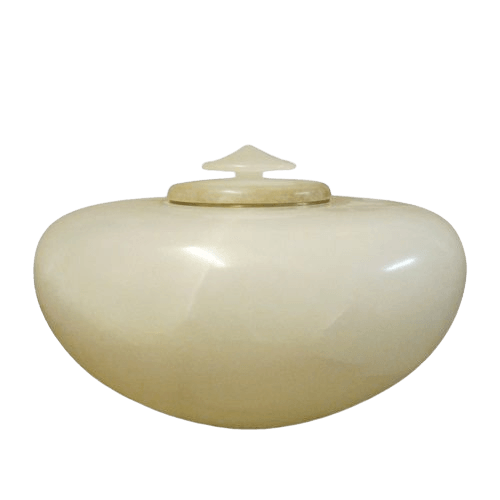 Illume Alabaster Cremation Urn