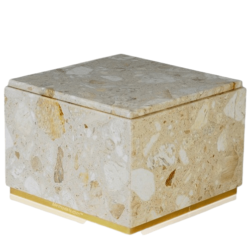 Immensita Perlato Marble Cremation Urn