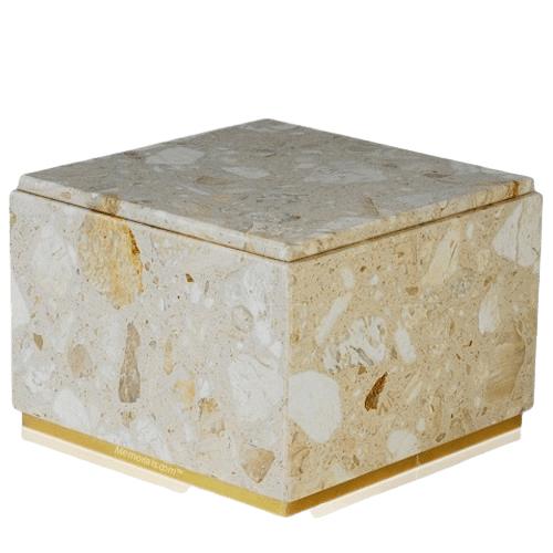 Immensita Perlato Marble Cremation Urns