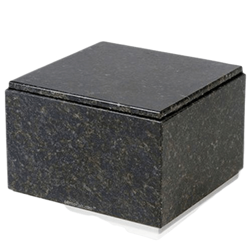 Immensita Silver Verde Granite Urn