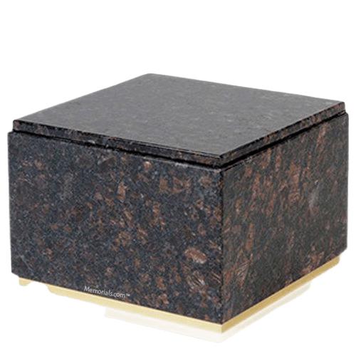 Immensita Tan Brown Granite Cremation Urn