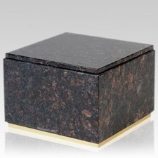 Immensita Tan Brown Granite Cremation Urns