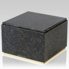 Immensita Verde Granite Cremation Urn
