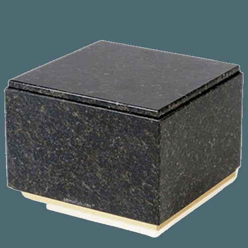 Immensita Verde Granite Cremation Urns