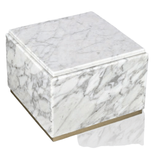 Immensita Bianco Marble Urn