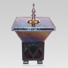 Imperial Glass Cremation Urn