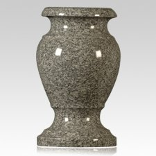 Imperial Gray Granite Vase
