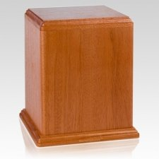 Imperial Mahogany Cremation Urn