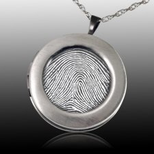 Impression Locket Print Keepsake