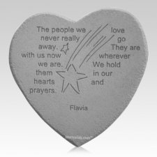 In Our Prayers Heart Stone
