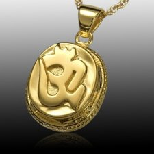 India Calm Cremation Pendant II