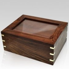 Indian Rosewood Pet Cremation Urn