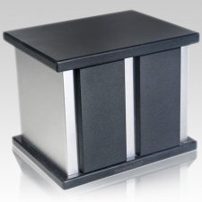 Infinita Silver Shanxi Granite Companion Urn