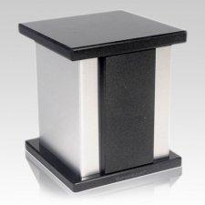 Infinita Silver Shanxi Granite Urn