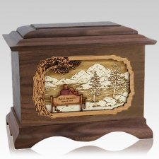 Infinitely Wood Cremation Urns