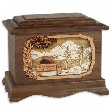 Infinitely Wood Cremation Urns
