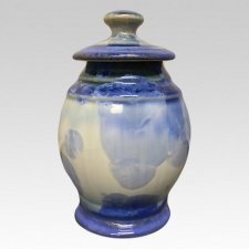 Infinity Porcelain Pet Cremation Urn