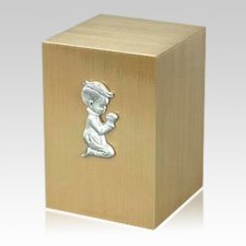 Innocence Boy Cremation Bronze Urn