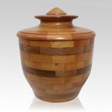 Integral Wood Cremation Urn