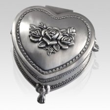 Ionic Heart Keepsake Box